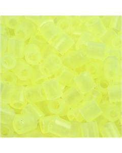 Putkihelmet, koko 5x5 mm, aukon koko 2,5 mm, medium, neonkeltainen (32223), 1100 kpl/ 1 pkk