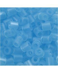 Putkihelmet, koko 5x5 mm, aukon koko 2,5 mm, medium, sin.neon (32235), 6000 kpl/ 1 pkk