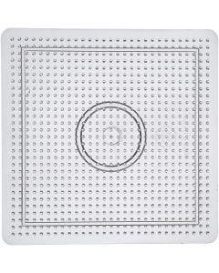 Putkihelmialusta, koko 14,5x14,5 cm, kuulto, 1 kpl
