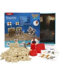 Sandy Clay® hiekkamassa, luonnonrusk., 1 set