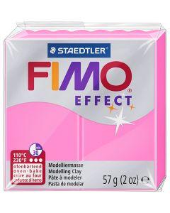 FIMO® Effect metallihopea 81, neonpinkki, 57 g/ 1 pkk