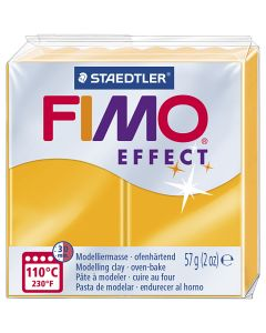 FIMO® Effect metallihopea 81, neonoranssi, 57 g/ 1 pkk