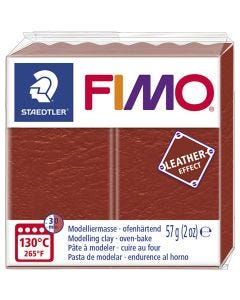 FIMO® Leather Effect, rust (749), 57 g/ 1 pkk