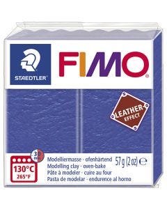 FIMO® Leather Effect, indigo (309), 57 g/ 1 pkk