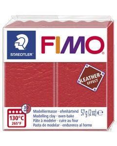 FIMO® Leather Effect, watermelon (249), 57 g/ 1 pkk