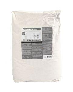 Cera-Mix Standard kipsijauhe, vaaleanharmaa, 25 kg/ 1 pkk