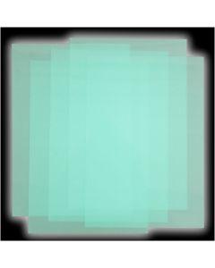 Kutistemuovilevyt, 50 ark/ 1 pkk