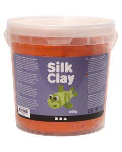 Silk Clay® silkkimassa, oranssi, 650 g/ 1 prk