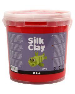 Silk Clay® silkkimassa, punainen, 650 g/ 1 prk