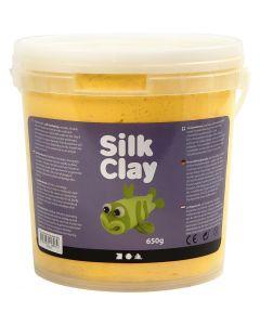 Silk Clay® silkkimassa, keltainen, 650 g/ 1 prk