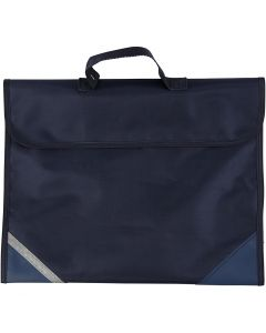 Koululaukku, koko 36x29 cm, tummansininen, 1 kpl