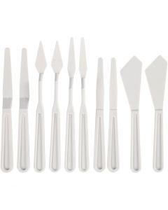 Muoviset palettiveitset, Lev: 13-33 mm, 10 kpl/ 1 pkk