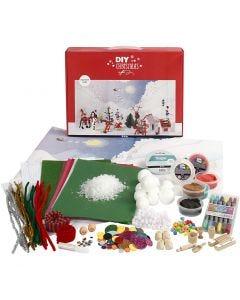 Joulumaisema-materiaalisetti, 1 set