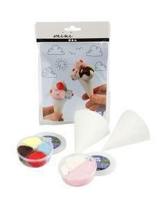 Mini luova pakkaus, jäätelötötterö, 1 set