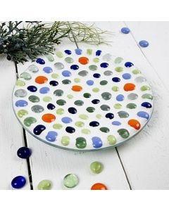 Mosaiikkitaidetta lasivadissa