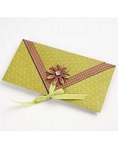 Taitettu kirjekuori