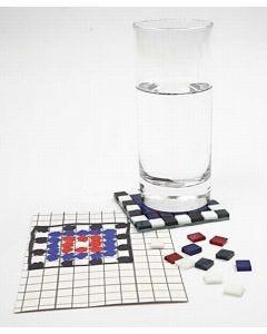 Lasimosaiikkia lasille