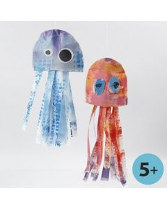 Meduusa kangasjäljitelmästä
