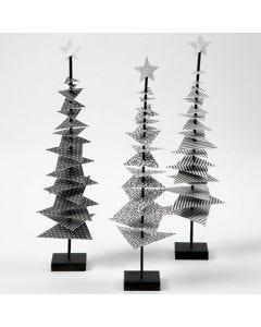 Joulukuusi Vivi Gade design -papereista