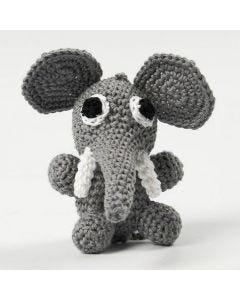 Istuva elefantti