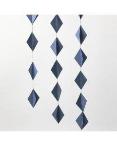 Roikkuva 3D kartonki timantti koriste