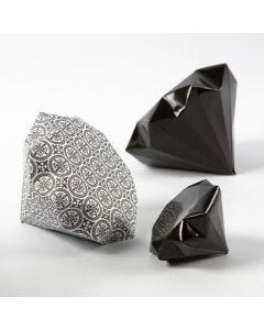 Taiteltu timantti Vivi Gade Design-paperista