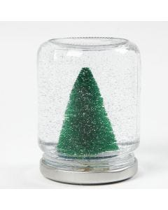 Joulukoriste hillopurkista