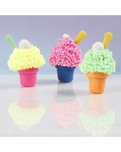 Jäätelövuoka Soft Foam:sta ja muovailumassasta