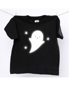 T-paita heijastavalla kummituksella