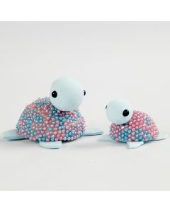 Kilpikonnat Silk Clay:sta ja Pearl Clay:sta