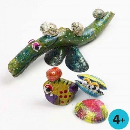 A-Color Glass -maali luonnonmateriaaleilla
