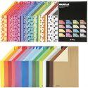 Color Bar-kartonki, A4, 210x297 mm, 250 g, värilajitelma, 32x10 ark/ 1 pkk