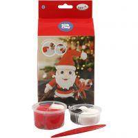 DIY-askartelupakkaus, joulupukki, 1 set