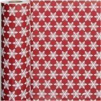 Lahjapaperi, jääkiteet, Lev: 50 cm, 80 g, 100 m/ 1 rll