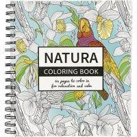 Aikuisten värityskirja, luonto, koko 19,5x23 cm, 64 , 1 kpl