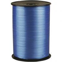 Lahjanauha, Lev: 10 mm, kiiltävä, sininen, 250 m/ 1 rll