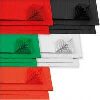 Kennopaperi, 28x17,8 cm, valkoinen, 5x8 ark/ 1 pkk