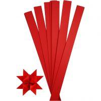 Paperisuikaleet, Pit. 73 cm, halk. 11,5 cm, Lev: 25 mm, punainen, 100 suikaleet/ 1 pkk