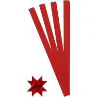 Paperisuikaleet, Pit. 45 cm, halk. 6,5 cm, Lev: 15 mm, punainen, 100 suikaleet/ 1 pkk