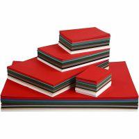 Joulukartonki, A2,A3,A4,A5,A6, 180 g, värilajitelma, 1800 laj/ 1 pkk