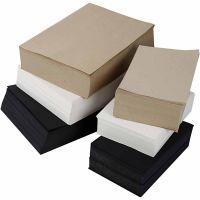 Piirustuspaperi, A3,A4, 100 g, musta, harmaa, jalo, valkoinen, 6000 laj/ 1 pkk