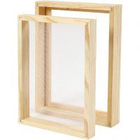 Paperinvalmistusmuotti ja kansi, A5, koko 25x19x3cm , 1 kpl