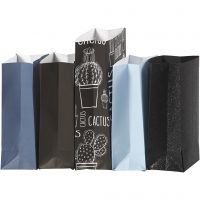 Paperipussi, Kork. 21 cm, koko 6x9 cm, 80 g, 5x10 pkk/ 1 pkk