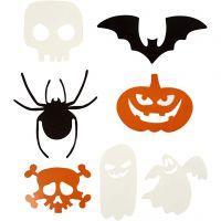 Halloween-kuviot, koko 5-10 cm, 180 g, 50 kpl/ 1 pkk