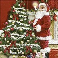 Servietit, Nostalginen joulu, koko 33x33 cm, 20 kpl/ 1 pkk