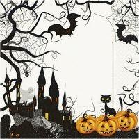 Servietit, Halloween, koko 33x33 cm, 20 kpl/ 1 pkk