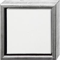 ArtistLine taulupohjat, syvyys 3 cm, koko 19x19 cm, valkoinen, 6 kpl/ 1 pkk