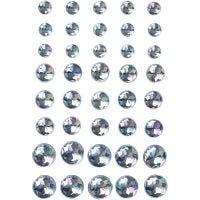Akryylitimantit, koko 6+8+10 mm, sininen, 40 kpl/ 1 pkk