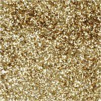 Ekologinen kimalle, halk. 0,4 mm, kulta, 10 g/ 1 tb