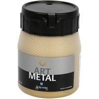 Askartelumaali metallic, light gold, 250 ml/ 1 pll